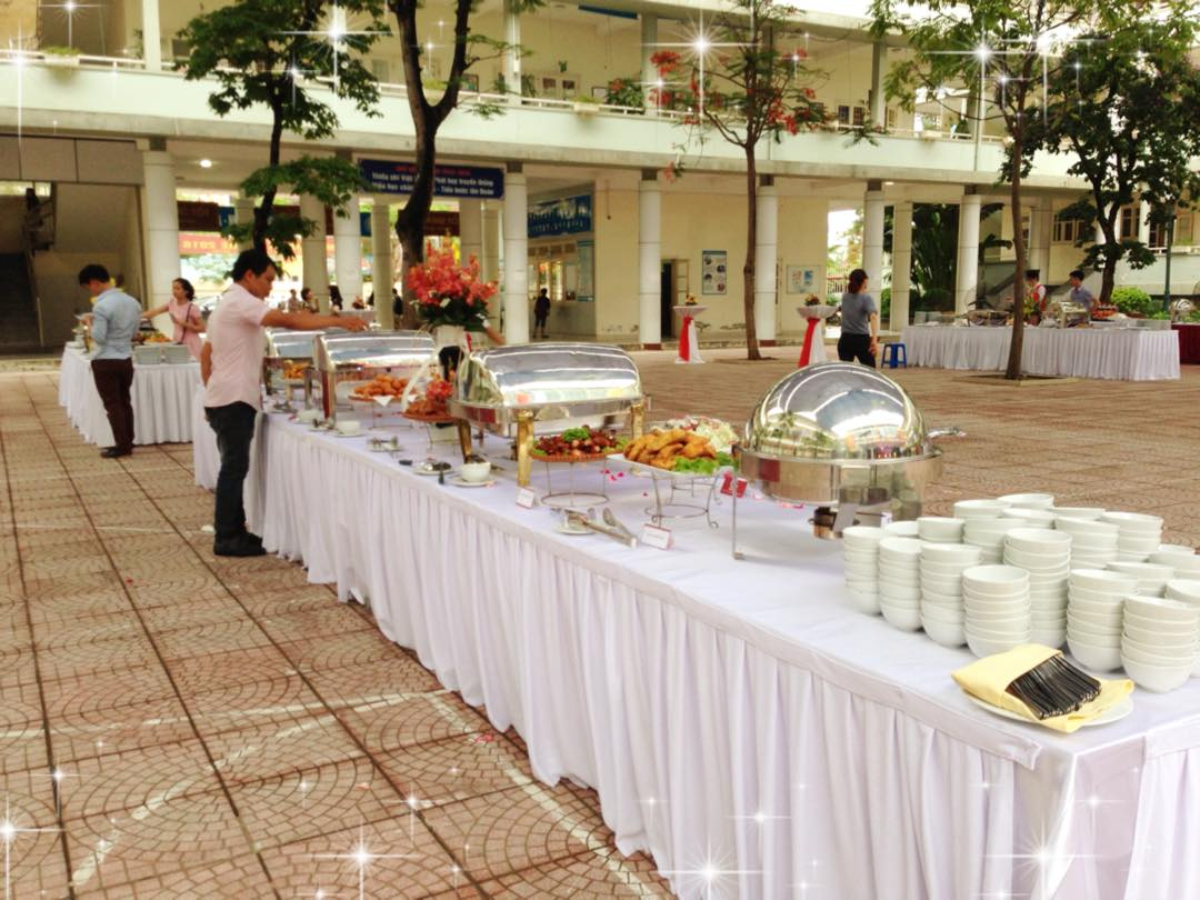 Tiệc buffet – finger food – tea break